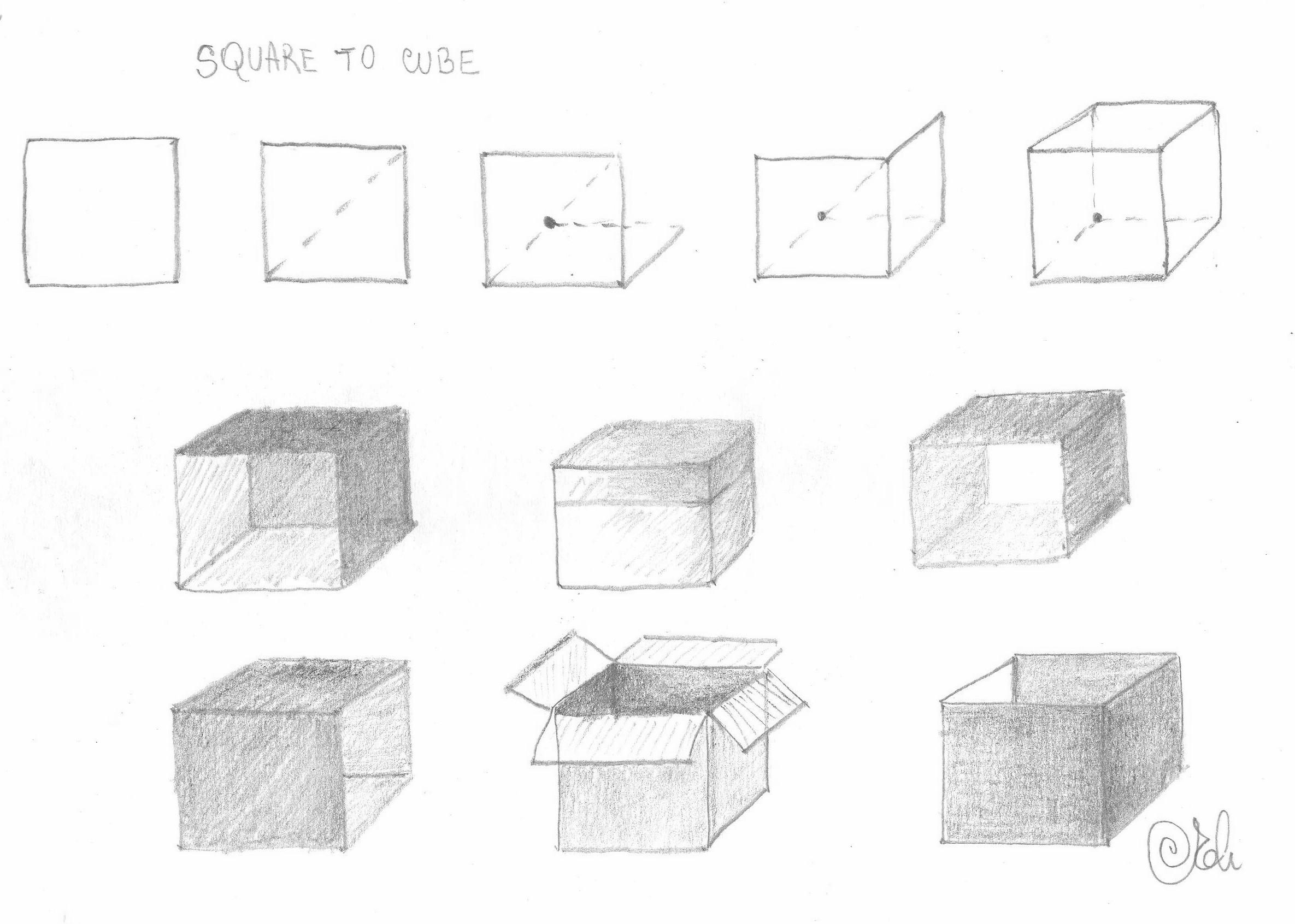 Free forum : I draw - Portal Cubedrawing
